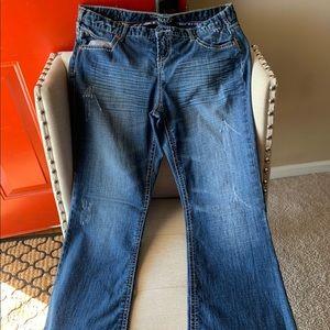 Jeans size 14 short